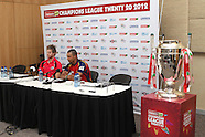 CLT20 - Pre Final Press Conference 27th October