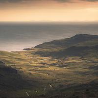 Harris and Glen Harris from Hallival, Isle of Rum