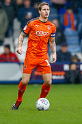Luton Town defender Glen Rea (16) on the ball during the EFL Sky Bet League 1 match between Luton Town and Scunthorpe United at Kenilworth Road, Luton, England on 6 October 2018.