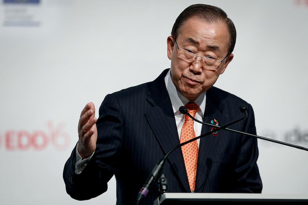 20160615 - Brussels , Belgium - 2016 June 15th - European Development Days - Opening Ceremony - Ban Ki-Moon - Secretary General, United Nations © European Union