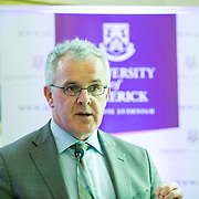 05.05. 2017.                          <br /> The Minister for Education and Skills, Richard Bruton, TD today officially launched a Post Graduate Qualification in&nbsp;School Leadership&nbsp;at the University of Limerick, aimed at those aspiring to senior leadership positions in schools. The establishment of this programme forms part of the Government&rsquo;s Action Plan for Education (2016-2019) and it aims to develop leadership capacity in Irish Primary and Post Primary Schools. <br /> <br /> Pictured at the launch was Prof. Paul Conway, Course Director UL. Picture: Alan Place.