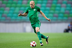 Tomislav Tomic of NK Olimpija Ljubljana during 1st Leg football match between NK Olimpija Ljubljana and HJK Helsinki in 3rd Qualifying Round of UEFA Europa League 2018/19, on August 9, 2018 in SRC Stozice, Ljubljana, Slovenia. Photo by Urban Urbanc / Sportida