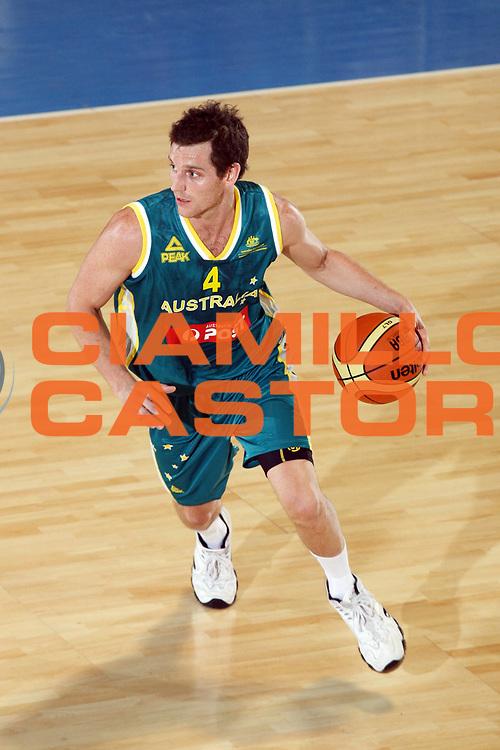 DESCRIZIONE : Bormio Amichevole Austria Australia <br /> GIOCATORE : Damien Ryan<br /> SQUADRA : Australia <br /> EVENTO : Bormio Amichevole Austria Australia <br /> GARA : Austria Australia<br /> DATA : 30/07/2007 <br /> CATEGORIA : Palleggio<br /> SPORT : Pallacanestro <br /> AUTORE : Agenzia Ciamillo-Castoria/G.Cottini