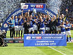 Leicester v Doncaster 3/5/2014