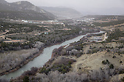 CREDIT: Steven St. John for The Wall Street Journal<br /> &quot;ANIMAS&quot;<br /> <br /> Life along the Animas River just south of Durango Colorado on Tuesday, March 22, 2016. Six months after an EPA crew triggered a toxic spill at a Colorado gold mine, state and local officials downstream are scrambling to prepare for a new emergency as spring snow melt threatens to stir up lead and other contaminants in a river used for drinking water.