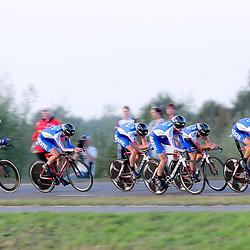27-09-2016: Wielrennen: Olympia Tour: Hardenberg<br />HARDENBERG (NED) wielrennen<br />Nederlands oudste wielerkoers ging van start in Hardenberg met een ploegentijdrit. CT Jo Piels