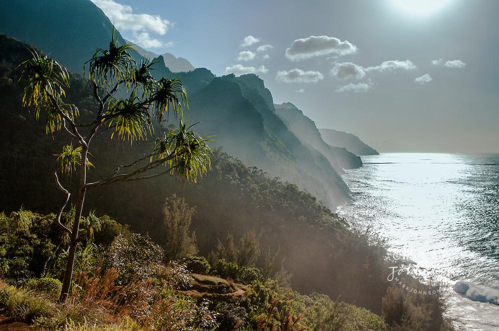 Na Pali coast & Kalalau Trail, Kauai, Hawaii