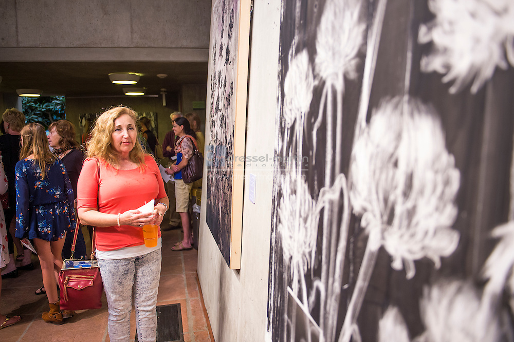 artist reception exhibit opening gates court