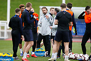 England manager Gareth Southgate during the England training session ahead of the UEFA Euro Qualifier against the Czech Repulbic, at St George's Park National Football Centre, Burton-Upon-Trent, United Kingdom on 19 March 2019.