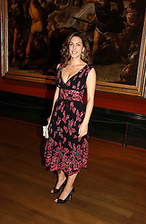 MISS JESSICA DE ROTHSCHILD at an art talk and dinner hosted by Louis Vuitton at The National Gallery, Trafalger Square, London on 25th May 2006.