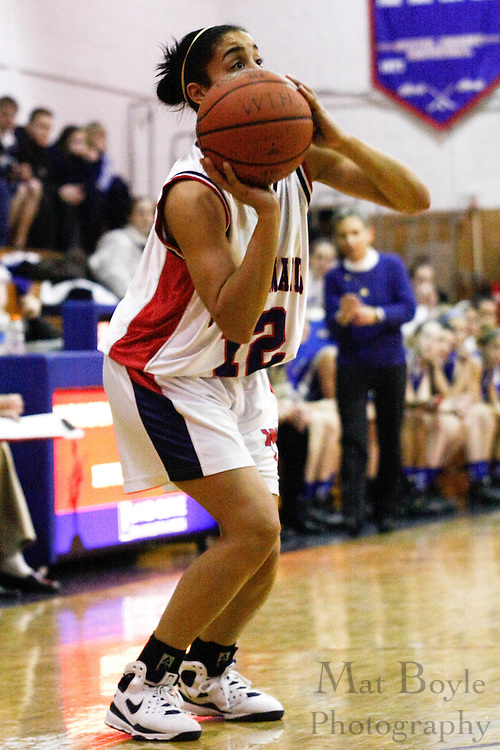 2009 Jan 20: Washington Township Girl's Basketball hosts Williamstown High School.