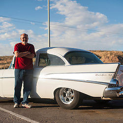 Grant Foutz and his Chevy Bel-Air