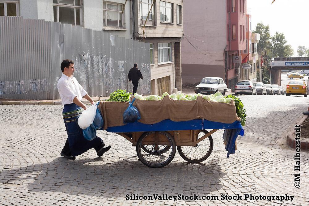 Fruit and Vegitable Cart, Istanbul
