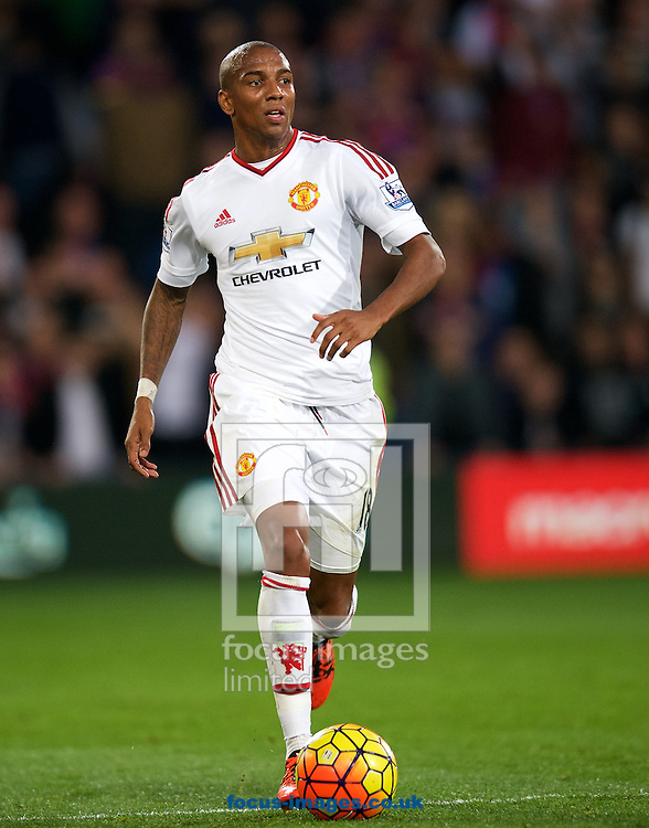 Ashley Young of Manchester United during the Barclays Premier League match at Selhurst Park, London<br /> Picture by Alan Stanford/Focus Images Ltd +44 7915 056117<br /> 31/10/2015