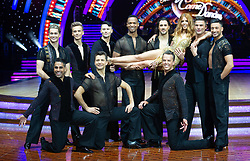 Stacey Dooley, Dr Ranj Singh, Joe Sugg, Graeme Swann, Aljaz Skorjanec, Pasha Kovalev, AJ Pritchard, Giovanni Pernice, Graziano Di Prima and Johannes Radebe attend the photocall for the 'Strictly Come Dancing' live tour at Arena Birmingham on 17 January 2019 in Birmingham, England. Picture date: Thursday 17 January, 2019. Photo credit: Katja Ogrin/ EMPICS Entertainment.