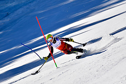 TURGEON Frederique, LW2, CAN, Slalom at the WPAS_2019 Alpine Skiing World Cup, La Molina, Spain