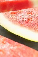 Sliced watermelon, close-up
