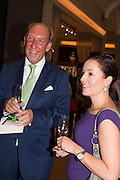 LORD DICK DAVENTRY;  KATIE SMALL, Lunch at the Ivy Club pop up-restaurant during the preview of Masterpiece Art Fair. Co-hosted by  Count & Countess Filippo Guerrini-Maraldi, and Lord<br /> Dick Daventry. 26 June 2013