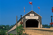 World's Longest Covered Bridge<br /> Hartland<br /> New Brunswick<br /> Canada
