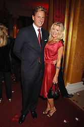 ROBERT HERSOV and DR KATIE JAMES at a party to celebrate the launch of the 'Inde Mysterieuse' jewellery collection held at Lancaster House, London SW1 on 19th September 2007.<br /><br />NON EXCLUSIVE - WORLD RIGHTS