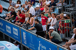 Supporters during ATP Challenger Zavarovalnica Sava Slovenia Open 2019, day 8, on August 16, 2019 in Sports centre, Portoroz/Portorose, Slovenia. Photo by Vid Ponikvar / Sportida