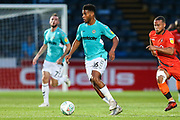 Forest Green Rovers Reuben Reid(26) runs forward during the 2nd round of the Carabao EFL Cup match between Wycombe Wanderers and Forest Green Rovers at Adams Park, High Wycombe, England on 28 August 2018.