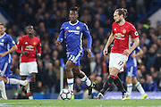 Daley Blind Midfielder of Manchester United during the Premier League match between Chelsea and Manchester United at Stamford Bridge, London, England on 23 October 2016. Photo by Phil Duncan.
