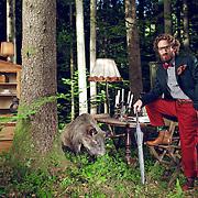 Weber Mathis + Freunde, Waldstory, Messepark Magazin