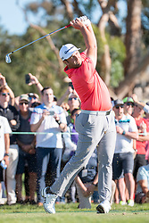 January 27, 2019 - San Diego, CA, U.S. - SAN DIEGO, CA - JANUARY 27: Jon Rahm during the final round of the Farmers Insurance Open at Torrey Pines Golf Club on January 27, 2019 in San Diego, California. (Photo by Alan Smith/Icon Sportswire) (Credit Image: © Alan Smith/Icon SMI via ZUMA Press)