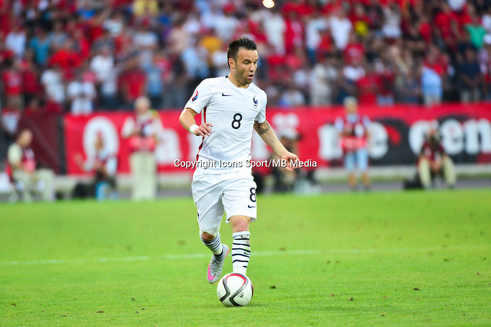 Mathieu VALBUENA - 13.06.2015 - Albanie / France - Match Amical - Tirana<br />