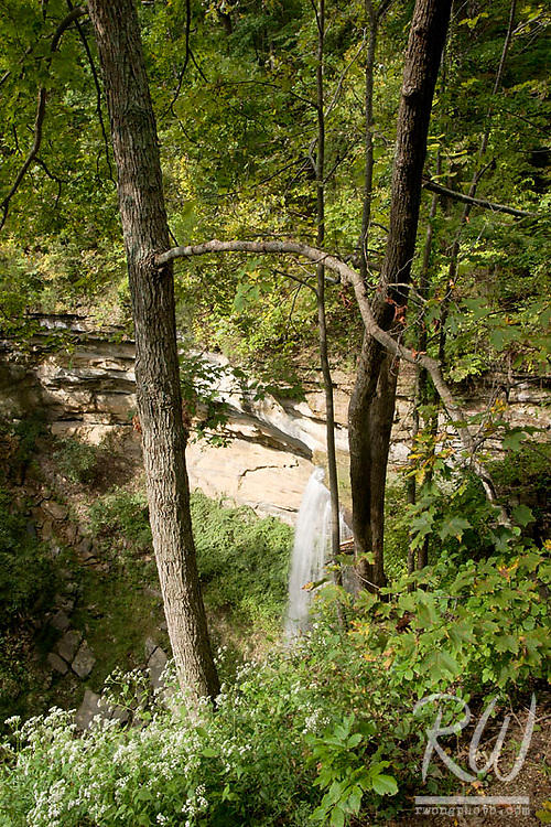 Tunnel Falls, Clifty Falls State Park, Indiana