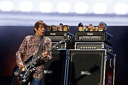 © licensed to London News Pictures . 30/06/2012 . Manchester , UK . Mani playing with The Stone Roses on stage at Heaton Park during the band's comeback event . Photo credit : Joel Goodman/LNP