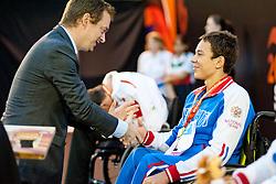 ZHDANOV Roman RUS at 2015 IPC Swimming World Championships -  Men's 50m Backstroke S4