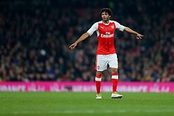 25 October 2016 - EFL Cup - 4th Round - Arsenal v Reading - Mohamed Elneny of Arsenal - Photo: Marc Atkins / Offside.