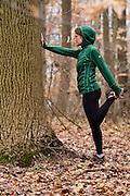 Natalie Rockwell running.