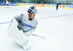 Robert Kristan of Slovenia during practice session of Slovenian Ice Hockey National Team at Day 4 of 2015 IIHF World Championship, on May 4, 2015 in Practice arena Vitkovice, Ostrava, Czech Republic. Photo by Vid Ponikvar / Sportida