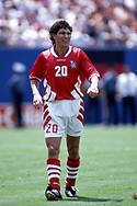 FIFA World Cup - USA 1994<br /> 10.7.1994, Giants Stadium, New York/New Jersey.<br /> World Cup Quarter Final, Bulgaria v Germany.<br /> Krassimir Balakov - Bulgaria