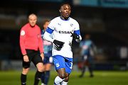Tranmere Rovers forward (on loan from Aston Villa) Rushian Hepburn-Murphy (18) during the The FA Cup match between Wycombe Wanderers and Tranmere Rovers at Adams Park, High Wycombe, England on 20 November 2019.