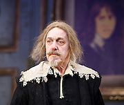 The Miser <br /> by Moliere<br /> adapted by Sean Foley and Phil Porter <br /> at Garrick Theatre, London, Great Britain <br /> Press photocall <br /> 6th March 2017 <br /> <br /> Griff Rhys Jones as Harpagon <br />  <br /> <br /> <br /> <br /> Photograph by Elliott Franks <br /> Image licensed to Elliott Franks Photography Services