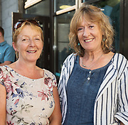 18/07/2018 repro free:   Judy Murphy and Martina Goggin at the world premiere of Incantata by Paul Muldoon starring Stanley Townsend and directed by Sam Yates. Incantata is a Galway International Arts Festival and Jen Coppinger production and is now on at the Town Hall Theatre, Galway until Friday July 27as part of GIAF18. Incantata is a deeply moving rollercoaster ride of a show starring one of Ireland's leading actors.  Photo:Andrew Downes, XPOSURE