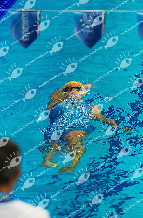 SVENSSON Emma Sweden SWE<br /> 100 backstroke women<br /> 27th Summer Universiade <br /> 5 - 17 July 2013 Kazan Tatarstan Russia<br /> Day 08 Swimming heats<br /> Photo G. Scala/Insidefoto/Deepbluemedia.eu
