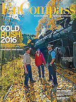 Cover photo of the September/October 2016 AAA EnCompass Magazine of the Cumbres & Toltec Railroad in southern Colorado by Blaine Harrington III.
