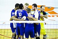 Jan Willen SNIPPE / Robin TOSSATO / David LANTA  - 19.12.2014 - Beauvais / Saint Nazaire - 12e journee de Ligue A<br />Photo : Fred Porcu / Icon Sport