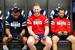 Will Hurrell looks on inside the Bristol Bears dressing room before the game - Rogan/JMP - 22/09/2018 - RUGBY UNION - Ashton Gate Stadium - Bristol, England - Bristol Bears v Harlequins - Gallagher Premiership Rugby.