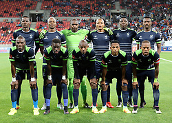Platinum Stars during the 2016 Premier Soccer League match between Chippa United and Platinum Stars held at the Nelson Mandela Bay Stadium in Port Elizabeth, South Africa on the 28th October 2016<br />