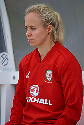 NEWPORT, WALES - Tuesday, June 5, 2018: Wales' Nadia Lawrence during a training session at Dragon Park ahead of the FIFA Women's World Cup 2019 Qualifying Round Group 1 match against Bosnia and Herzegovina. (Pic by David Rawcliffe/Propaganda)