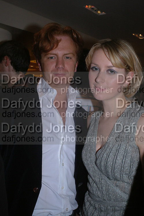 Prince Valeri Massimo and  Ticky Hedley-Dent. Christopher Bailey hosts a party to celebrate the launch of ' The Snippy World of New Yorker Fashion Artist Michael Roberts' Burberry, New Bond St.  London. 19  September 2005. ONE TIME USE ONLY - DO NOT ARCHIVE © Copyright Photograph by Dafydd Jones 66 Stockwell Park Rd. London SW9 0DA Tel 020 7733 0108 www.dafjones.com