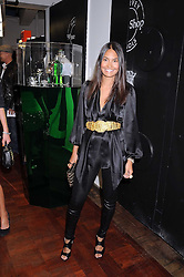 REENA HAMMER at a party to celebrate the launch of Billionaire Boys Club Ice Cream Season 7 at Harvey Nichols, Knightsbridge, London on 18th June 2008.<br />