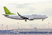 Air Baltic Boeing 737-300 Photographed at Linate airport, Milan, Italy
