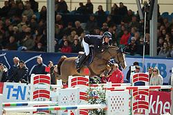 Will David, (GER), Cento du Rouet<br /> CSI4* Grand Prix DKB-Riders Tour<br /> Horses & Dreams meets Denmark - Hagen 2016<br /> © Hippo Foto - Stefan Lafrentz